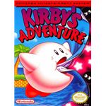 Kirby's Adventure - Original NES Box Art