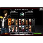 king of fighters screen2
