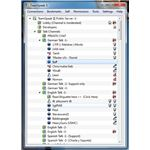 A screenshot of TeamSpeak's minimal interface.