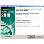 Kaspersky Internet Security Installation