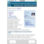 Medical Encyclopedia iPhone App