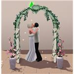 The Sims 3 wedding arch