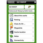Geocaching Buddy iPhone App