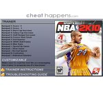 NBA 2K10 Megatrainer