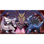 Dialga, Palkia, and Giratina