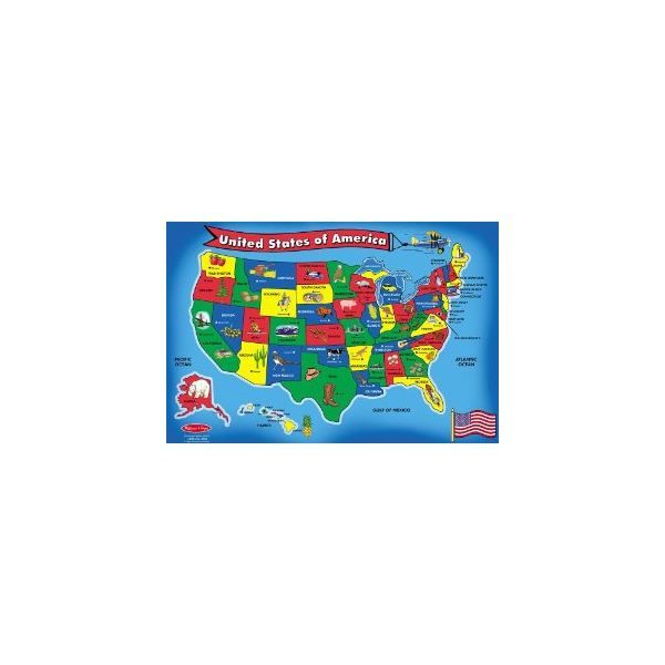 Memorize State Capitals Tricks To Help You - Usa map with states and capitals for kids