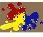 Amorphous Paint Blob logo.