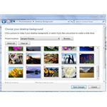 Change Windows 7 background slideshow