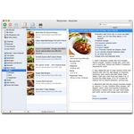 MacGourmet cookbook software for Mac OS X