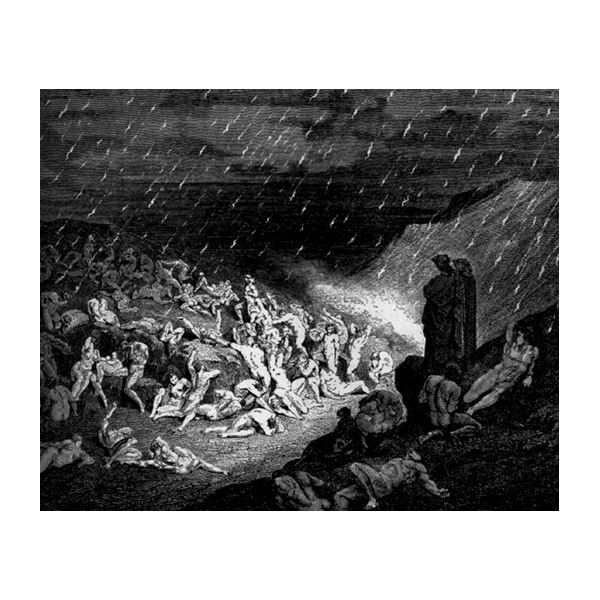 imagery in the masque of the red death by edgar allan poe a  rain of fire dante s inferno