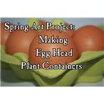 Make Plant Containers from Eggshells