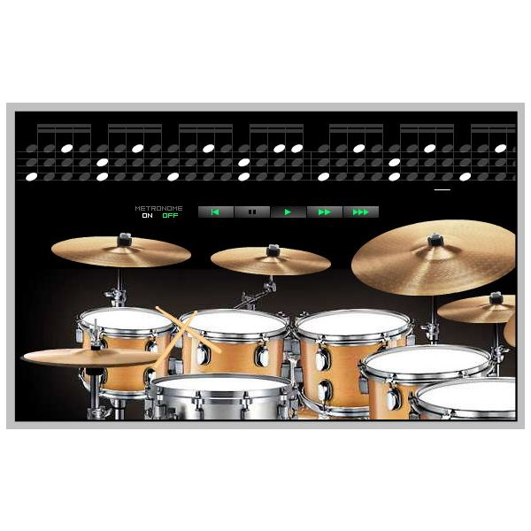 virtual online drums