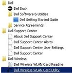 Dell Wireless Utility