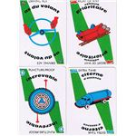 Mille Bornes Safety Cards