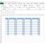 Figure1: Excel Data