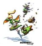 Acrobats take kicks to the extreme