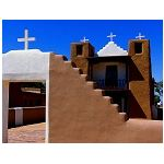 Taos Pueblo Church rebuilt after the revolt destroyed it