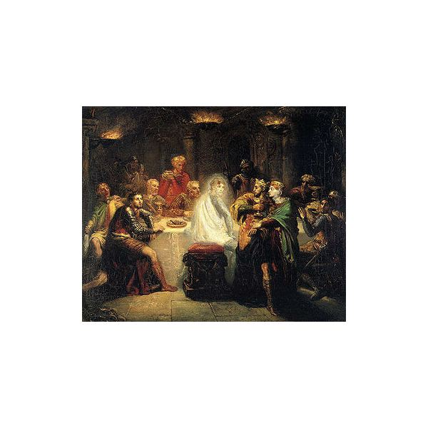 a comparison and contrasts in macbeth by william shakespeare