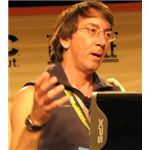 Will Wright, creator of The Sims, Sim City and Spore