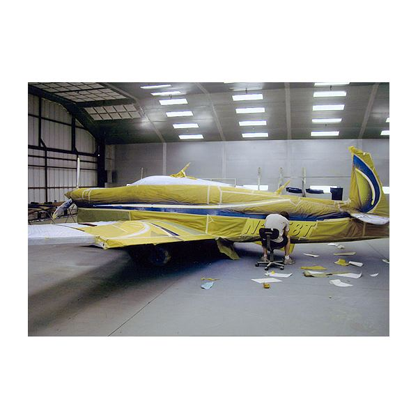 The average cost to paint a single engine plane for Average cost of a mural