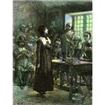 Anne Hutchinson on Trial by Edwin Austin Abbey