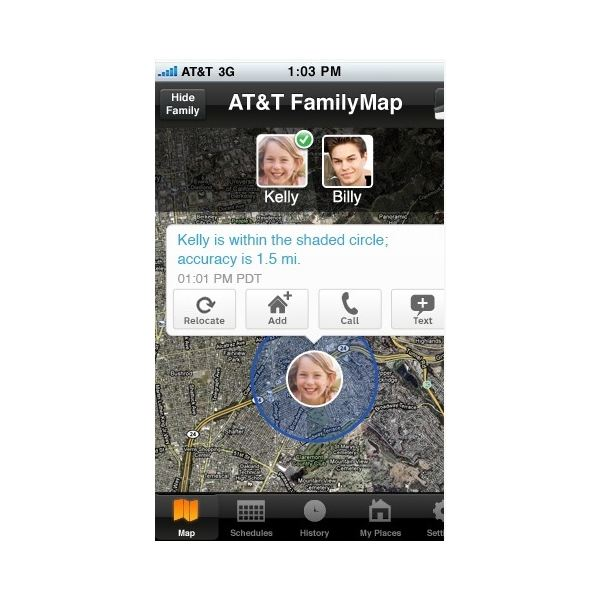 Locating Your Loved Ones With ATT Family Map - Att family map