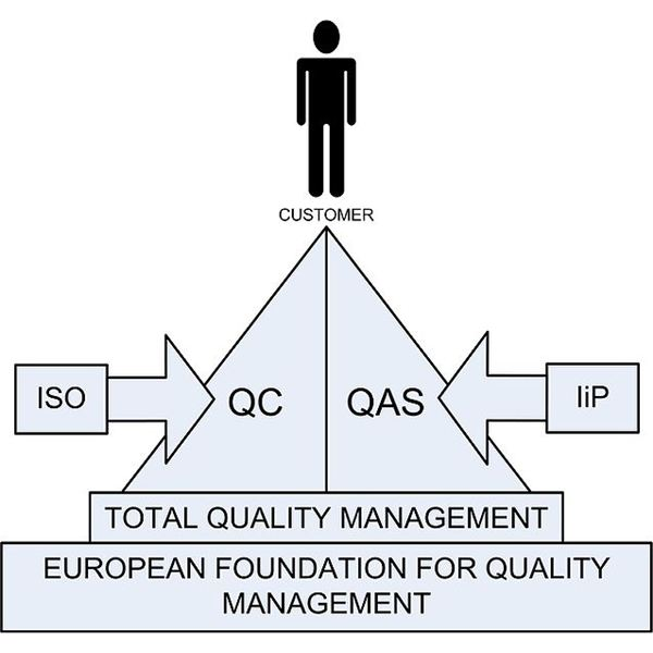 the concept behind total quality management tqm in a company Implementation of total quality management particular interest is the concept of total quality managemt the way the employees view the company's management 2.