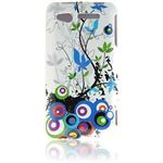 Graphic Rubberized Shield Case - Spring Flower