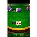 Live Blackjack In Game Screen