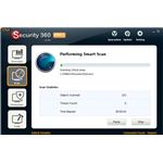 Iobit Security 360's quite user-friendly interface