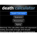 Death Calculator Blackberry app