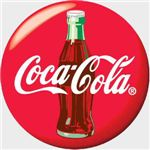 Coke bottle logo