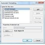 Automatic Formatting