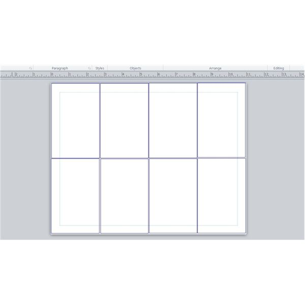 Publisher Text Boxes  Booklet Template Word