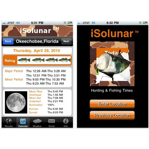 Top 5 iphone fishing apps where to get them for Best fishing apps