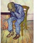Vincent Willem van Gogh - Crying Man