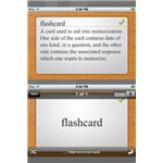 Flashcard Touch iPhone App