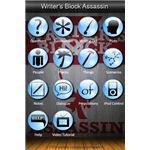 Writer's Block Assassin iPhone App