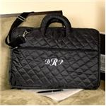 Personalized Quilted Laptop Bag