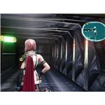 Final Fantasy XIII: The Crew Corridors in the Palamecia.
