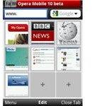 Opera mobile 10