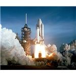 Launch of the First Space Shuttle Columbia