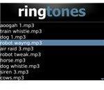 Ringtones XL BlackBerry App