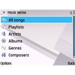 Symbain MP3 Player Play-list Options