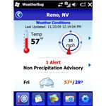 WeatherBug Screenshot Weather