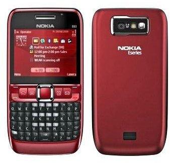 the nokia e series range of smartphones Nokia E66 Nokia E61