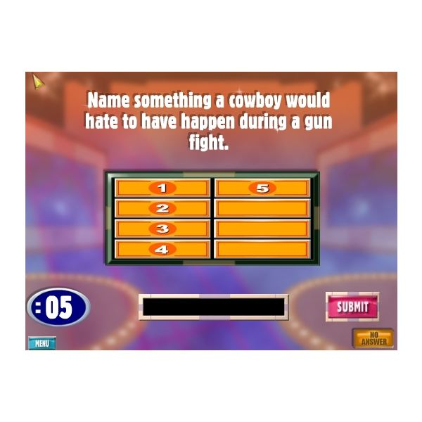 free family feud questions and answers tv game show