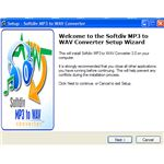 Softdiv MP3 to WAV Converter installation