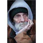 Portrait of a Homeless Man