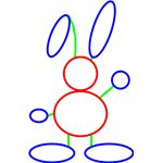 Let the kids draw their own version of Peter Rabbit for fun